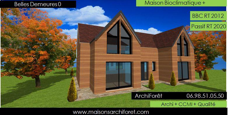 Belles demeures constructeur de maisons classique ossature for Construction maison en u