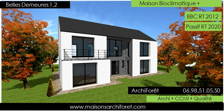 belles demeures constructeur de maisons classique ossature. Black Bedroom Furniture Sets. Home Design Ideas