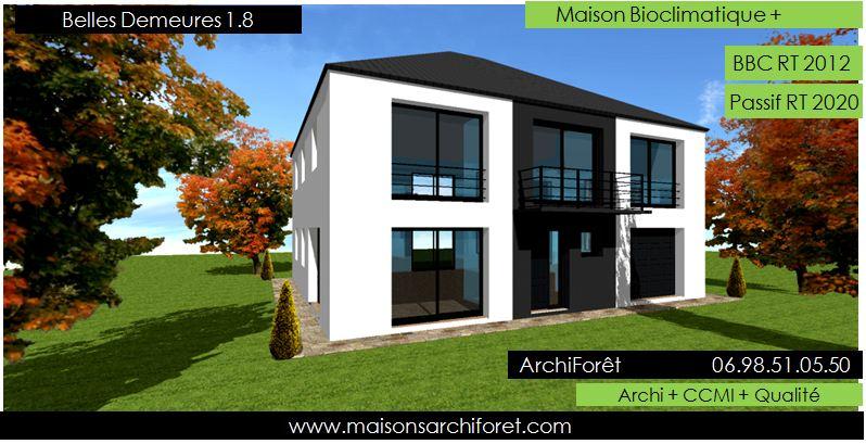 Belles demeures constructeur de maisons classique ossature for Architecte pour les maisons
