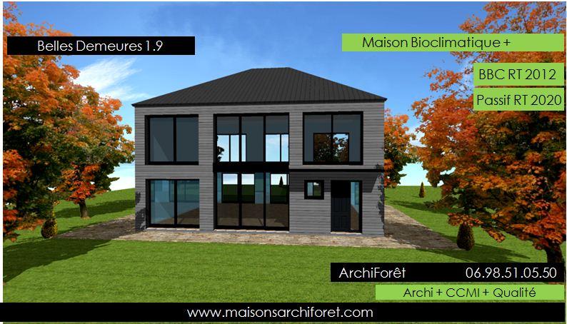 belles demeures constructeur de maisons classique ossature bois ... - Construction Maison Metallique Particulier