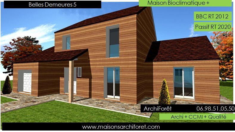 Belles demeures constructeur de maisons classique ossature bois for Construction en bois 6 etages
