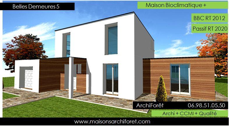 belles demeures constructeur de maisons classique ossature bois. Black Bedroom Furniture Sets. Home Design Ideas