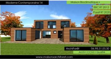 moderne contemporaine 13 une maison - Maison A Construire Moderne