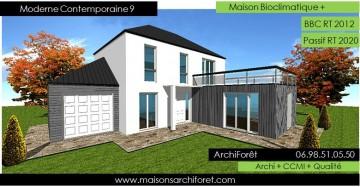 maison Contemporaine moderne et design d architecte constructeur ...