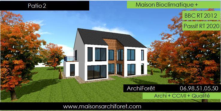 Constructeur De Maison D Architecte En Ossature Bois Et Agence D