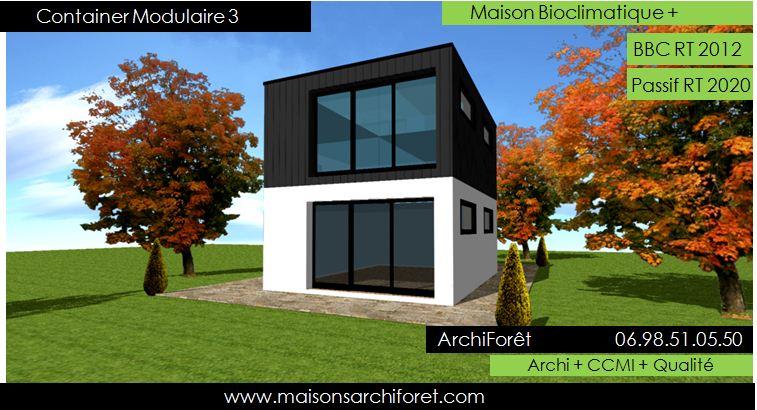 Maison modulaire ossature bois acier ventana blog for Constructeur maison acier