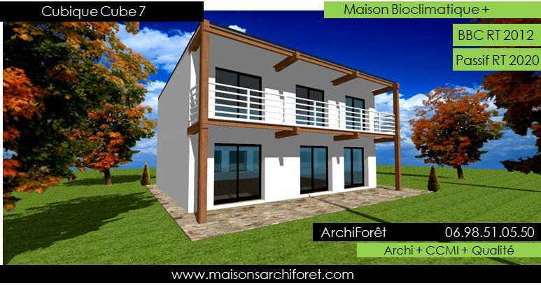 Maison toit plat et toiture terrasse bac acier ou siplast acrotere et couvertine par votre - Maison avec balcon terrasse ...